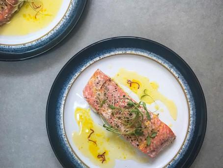 Saffron Butter Salmon