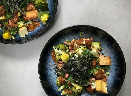 Broccoli & Smoked Tofu Salad