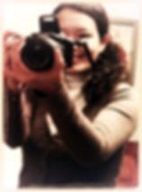 Nadia Quintanilla beim fotografieren, kamarabilder, fotos