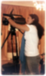 Nadia Quintanilla bei Videoaufnahme, kamara nürnberg, camara alemania