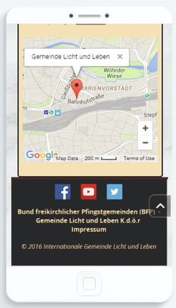 Responsive Website (Smartphones)