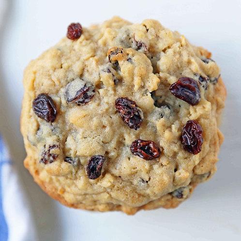 Raisin Oatmeal Power Cookie (Box of 12)