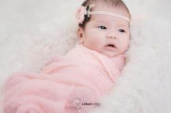 Newborn-Photography-Pink-Wrap-Singapore.