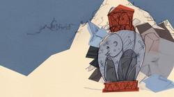 elephant book end