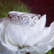 This pretty is a redo of a not so pretty engagement ring. It was falling apart and felt hollow.jpg
