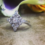 This turned out perfect! I used customer's grandmother's diamonds.jpg