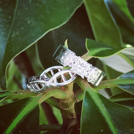I had fun making this set. My bride to be is a scientist and is involved in cancer research.jpg