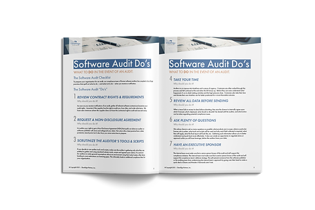 Do's and Don'ts of a Software Audit Response