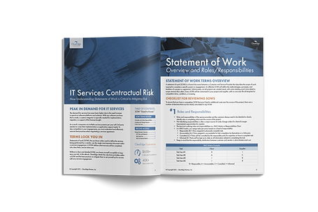 IT Services Statement of Work Contractual Risk