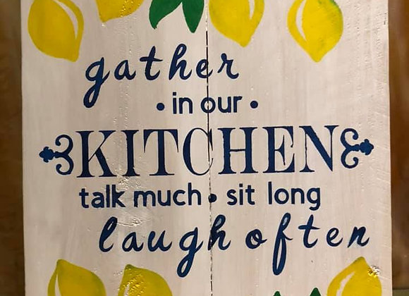 Gather in our Kitchen, Lemons