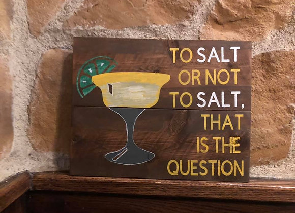 To salt or not to salt