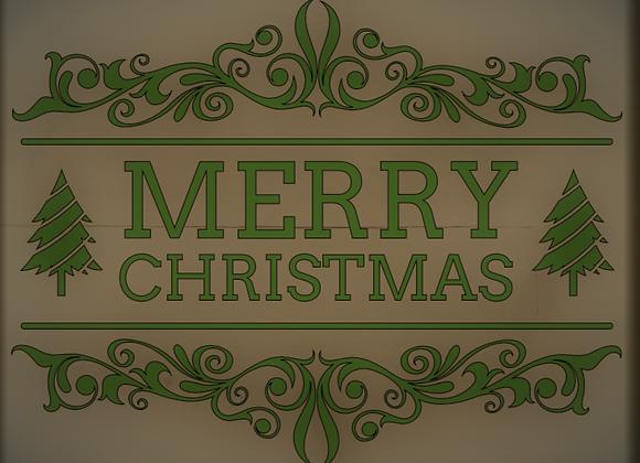 Merry Christmas w/trees