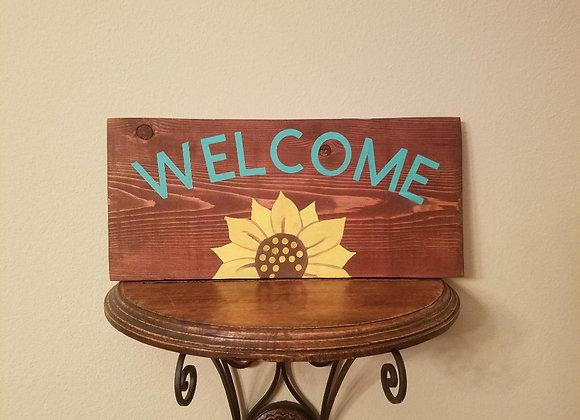 Welcome, Sunflower