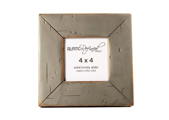 4x4 Cabin picture frame - Gray Green