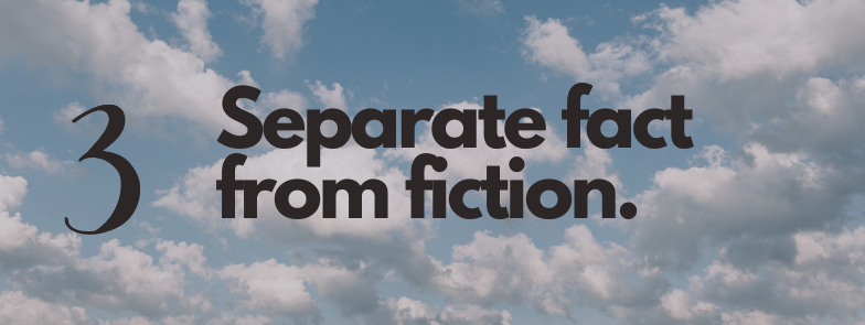 separate fact from fiction and give yourself a reality check about your work