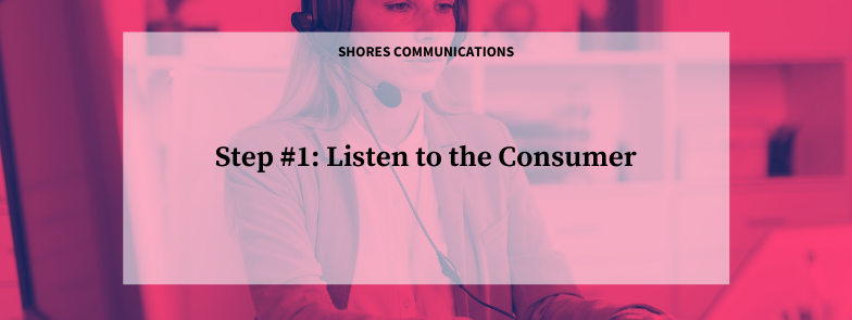Step #1: Listen to the Consumer