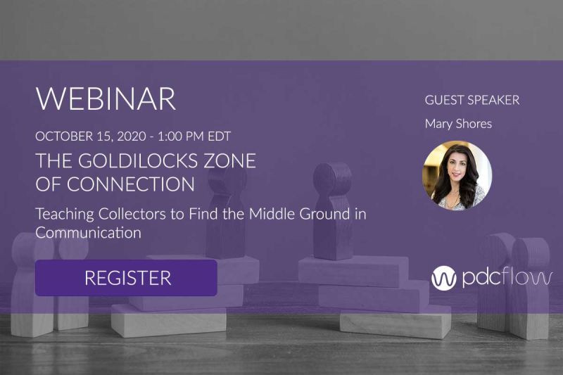 webinar for collections agencies. teaching collectors to find the middle ground in communications