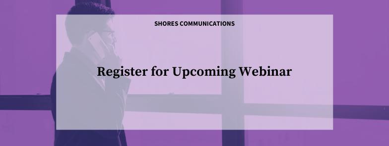 Register for upcoming webinar