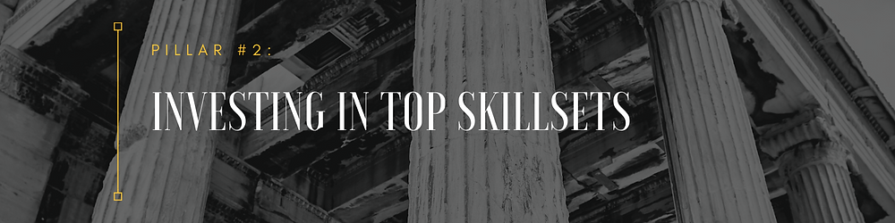 you should be investing in your team's top skills