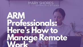 ARM Professionals: Here's How to Manage Remote Work