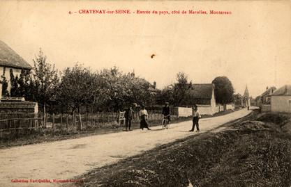 Entrée coté Montereau