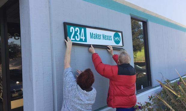 Maker Nexus Sign