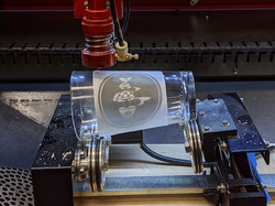 laser etch glass