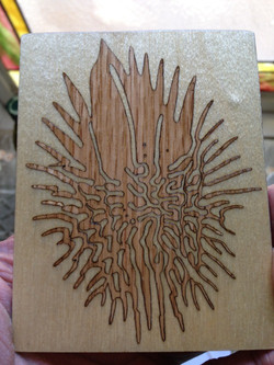 emergence Oak wood inlay