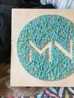 Logo Tile in Yarn