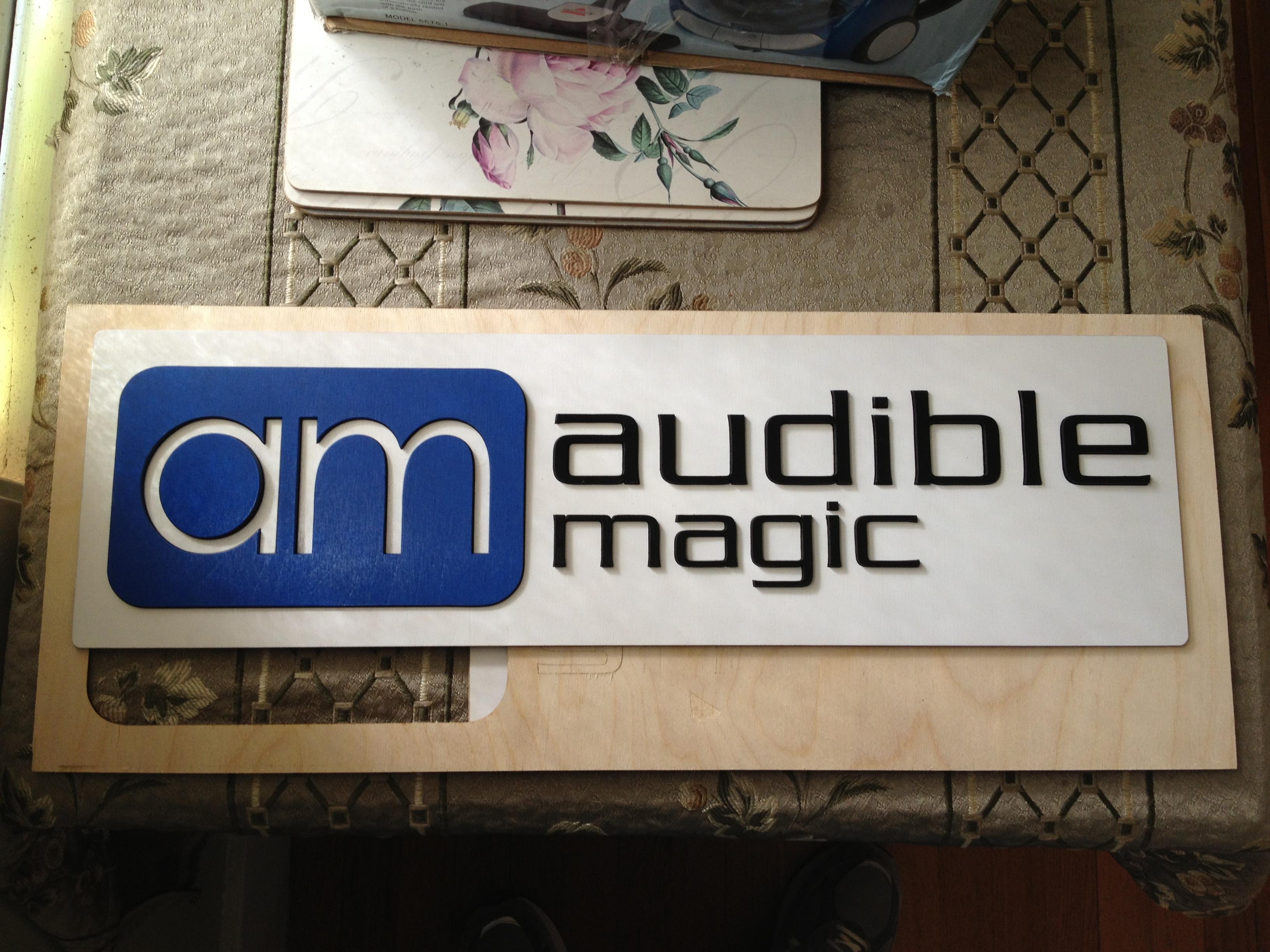 audible magic sign