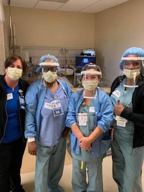 Harbor Kaiser nurses in LA our shield in