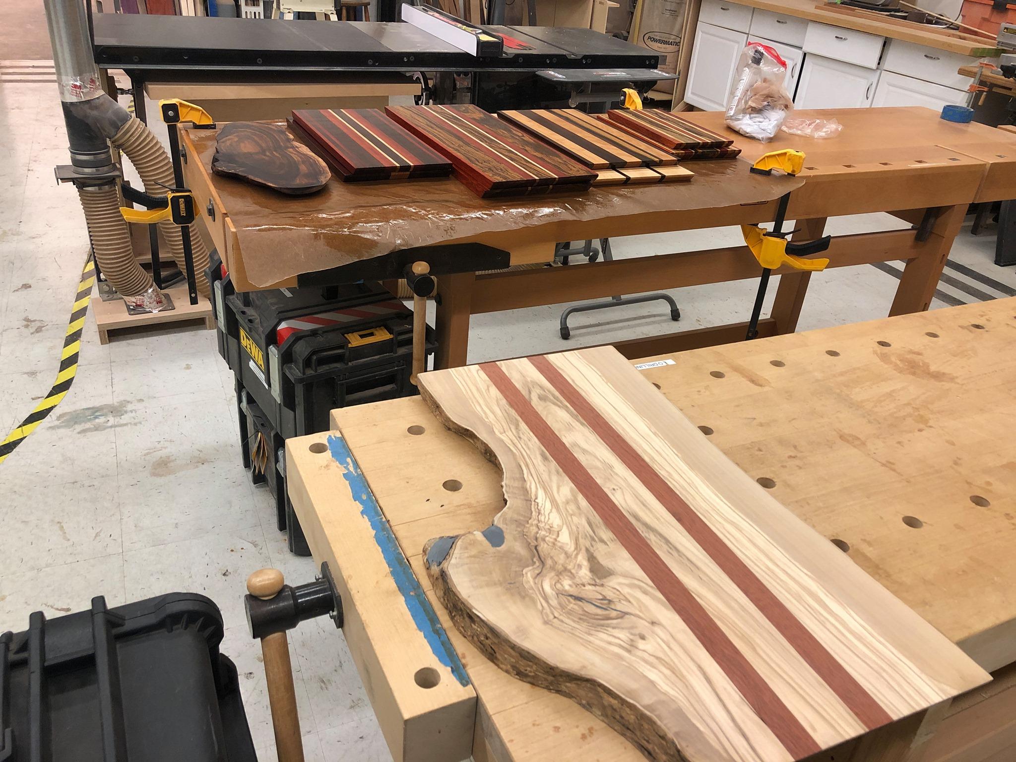 Woodshop projects