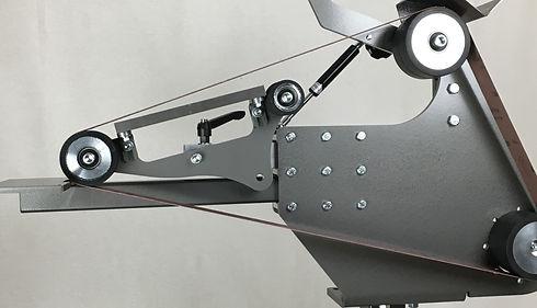 Belt grinder for knife makers