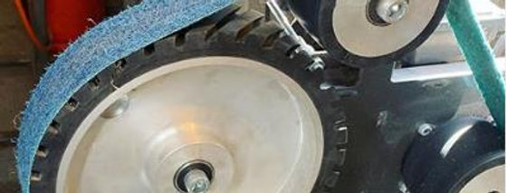 """10"""" (250mm) Serrated Contact Wheel with Pivot Pin"""