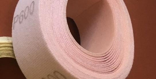 Premium abrasive roll - Hook & Loop  - 50mm x 10M