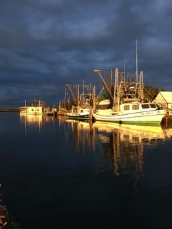 Shrimp Boats Lower Dularge