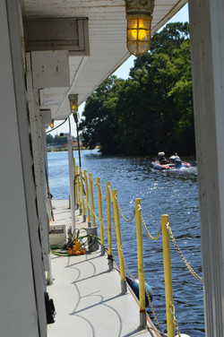 HB Side approaching Intracoastal Canal
