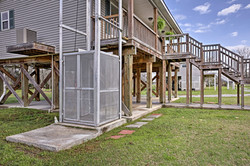 Lytle Farms Cajun Cottage Elevator