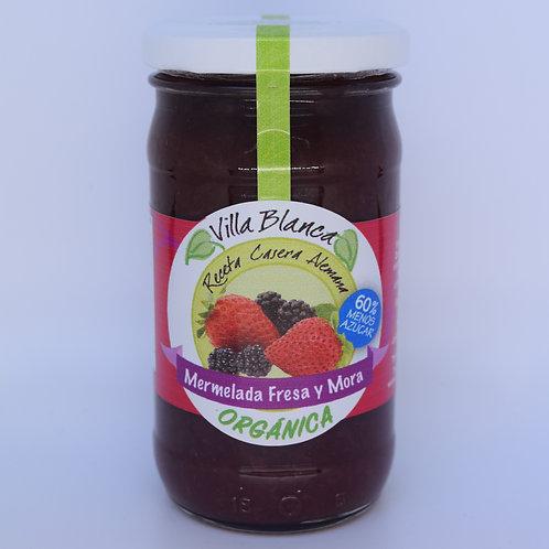 Mermelada de Fresa y Mora (orgánica)
