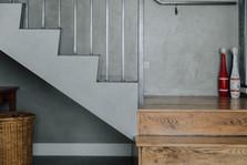 GFRC Stairs - Crete Grey