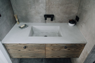 GFRC Custommade Basin - Ash Grey