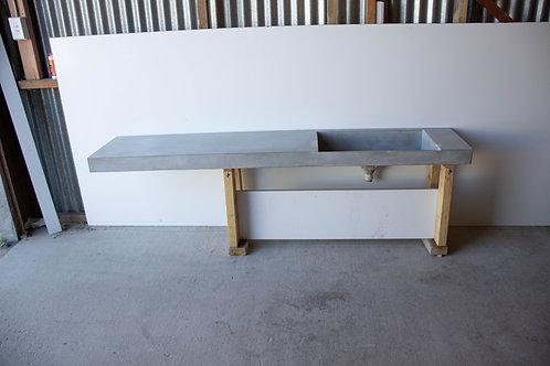 LARGE Custom Vanity with Ramp Sink - SECOND