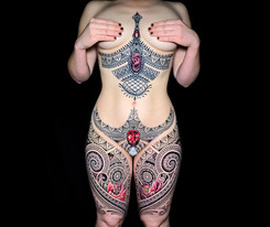 Full body tattoo Coen Mitchell Tattoo Gold Takapuna Tattoo Studio Auckland New Zealand