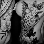 Coen Mitchell Tattoo Gold Takapuna Tattoo Studio Auckland New Zealand 3 day piece