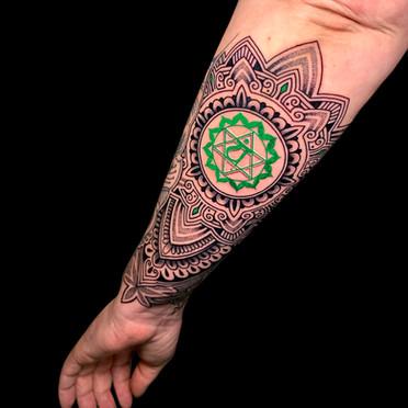 Charka tattoo Coen Mitchell Tattoo Gold Takapuna Tattoo Studio Auckland New Zealand