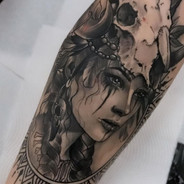 Sam Carter El Vardo tattoo - Tattoo Gold Flash weekend