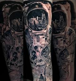 Cristiana Bugatti Tattoo Gold Auckland New Zealand Realism Tattoo
