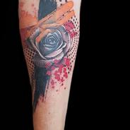 Tattoo Gold Colour Guest artist Auckland Tattoo Studio New Zealand