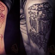 Jasmine Shadbolt Guest artist at tattoo gold takapuna auckland new zealand