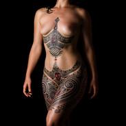 Female empowerment tattoo Coen Mitchell Tattoo Gold Takapuna Tattoo Studio Auckland New Zealand